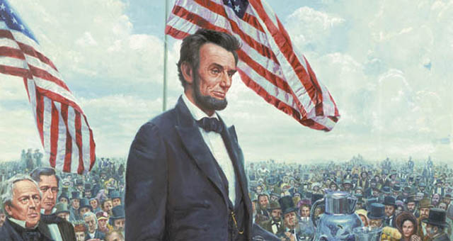 the rhetoric of lincolns gettysburg address essay Get an answer for 'discuss the rhetorical devices lincoln used in his gettysburg addressinclude at least two examples from the speech and explain why he used them.